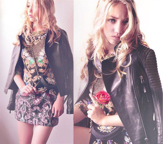 Banggood Dress, Zara Bag