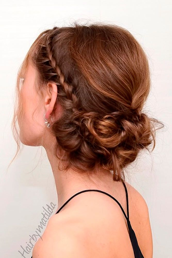 Hairstyles For Prom For Short Hair Gorgeous 33 Amazing Prom Hairstyles For Short Hair 2018  Creative Hairstyles