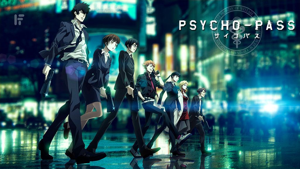 Psycho-Pass: Dystopian future of IoT