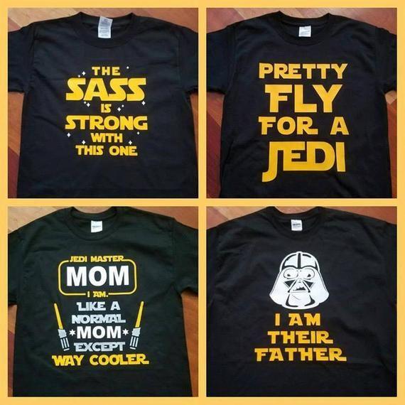 5XL Custom Vinyl Camiseta Dia del Padre Mejor Padre de la Galaxia