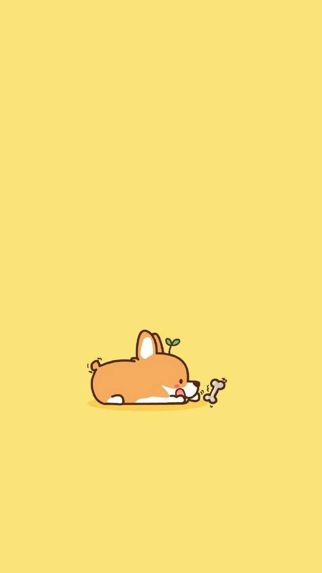Art Design With Cute Drawing Background Wallpaper Wallpaper Cute Drawing Art Background Cute Cartoon Wallpapers Cute Wallpapers Corgi Drawing