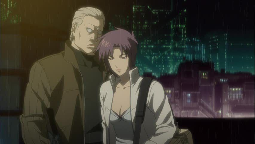 853full Ghost In The Shell Solid State Society Screenshot Jpg 853 480 Ghost In The Shell Ghost Anime