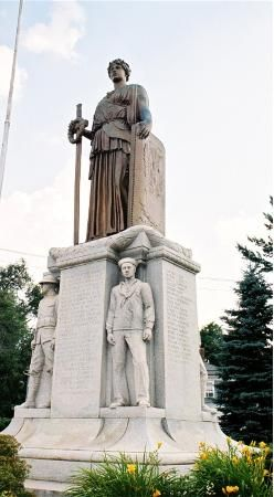 Winged Victory By Lorado Taft Danville Illinois Illinois Danville