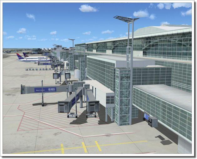 FSX Download Mega Airport Frankfurt Free   Add-ons FSX For Free