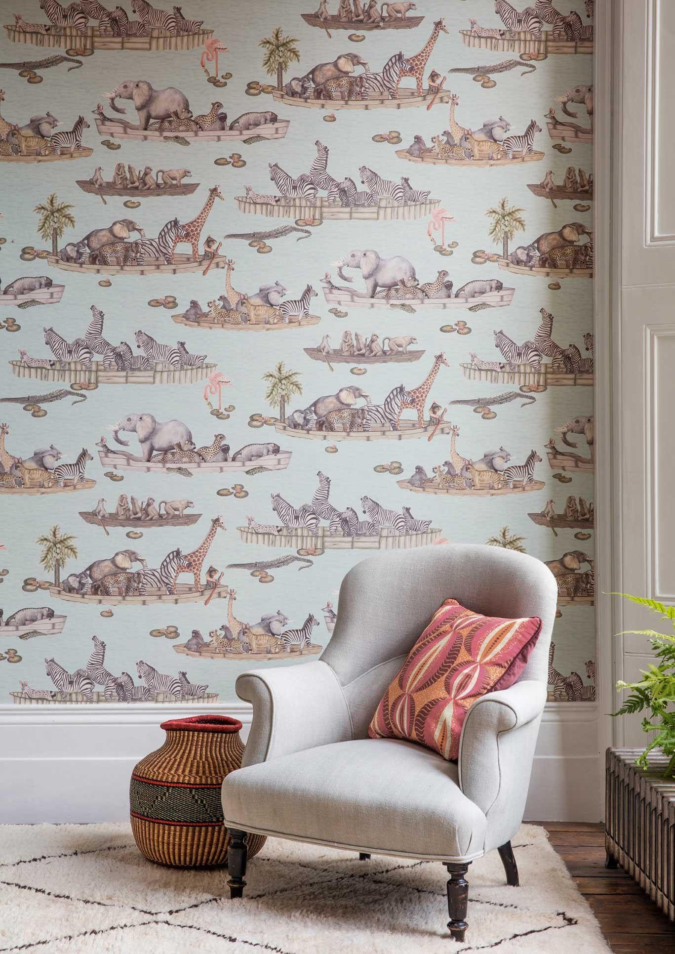 This unique Zambezi Wallpaper forms part of Cole & Son s Ardmore