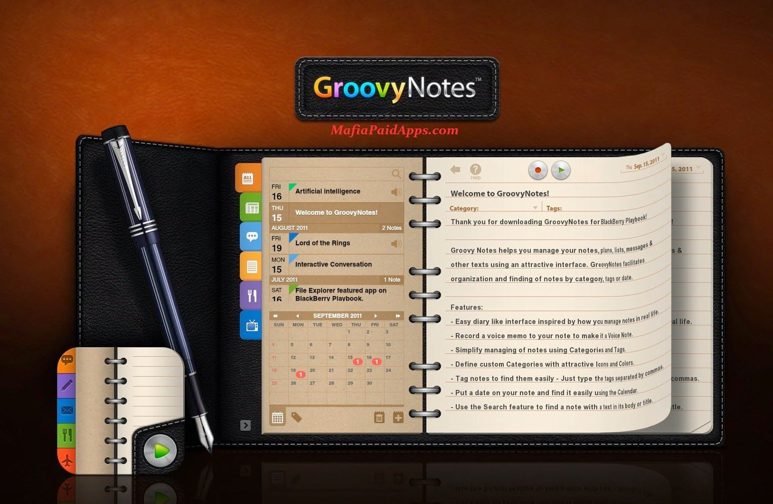 Groovy Notes - Personal Diary v1 2 0 Apk Groovy Notes is a
