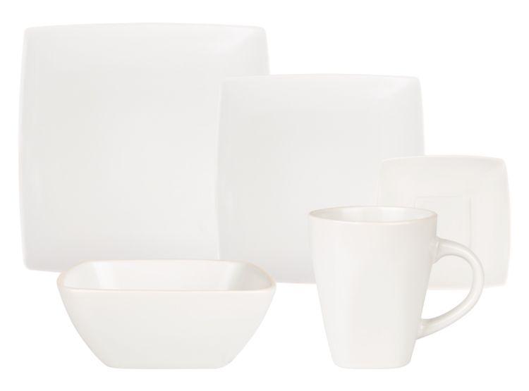 imagen para marquis home juego de vajilla ceramica pzas ivory de ripley