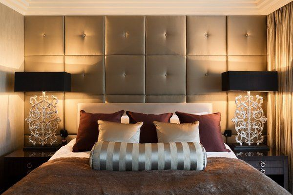 Elegance And Sophistication In The Interior With Padded Wall Panels Upholstered Walls Padded Wall Panels Home