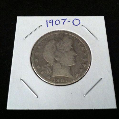1907 O Barber 90% Silver Half Dollar .900 Fine Silver & Free USA Shipping #silver #barber #coins #c2cth