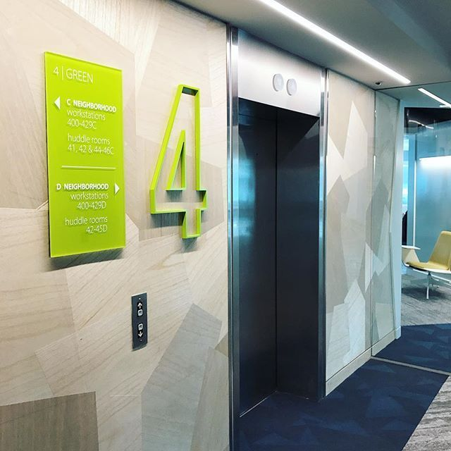 interior illuminated signage signs yorkshire desk north sign and society wayfinding building exterior directional leeds