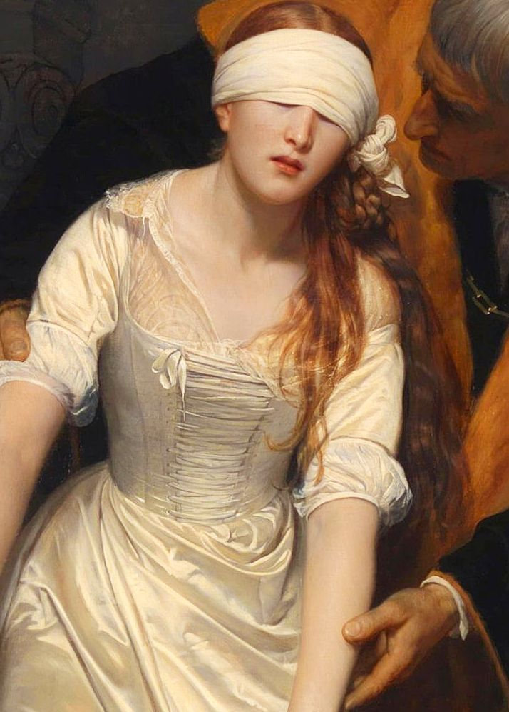 The Execution of Lady Jane Grey (1833) by Paul Delaroche | painting ...