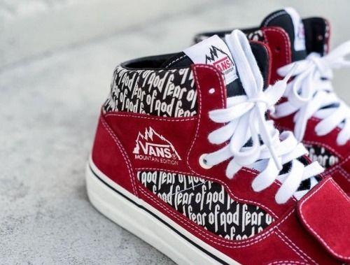 Fear of God x Vans | Vans, Sneakers, Shoes