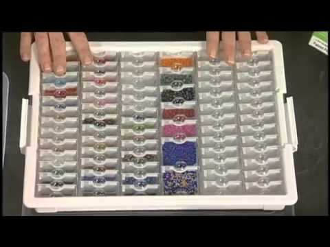 Bead Storage Solutions System Youtube Darice Handmade