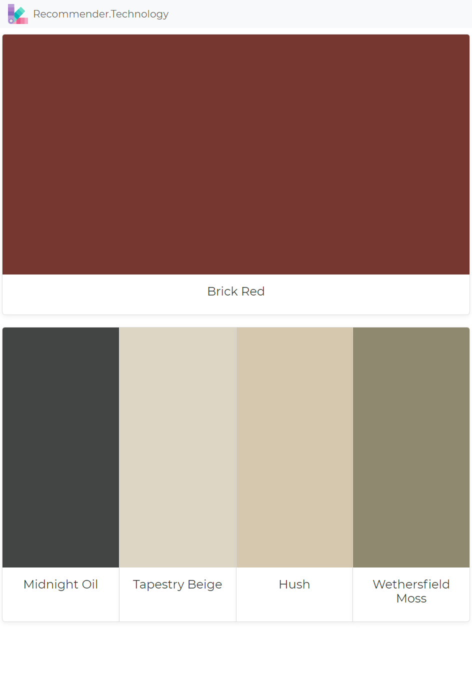 brick red midnight oil tapestry beige hush on benjamin moore exterior color chart id=12226