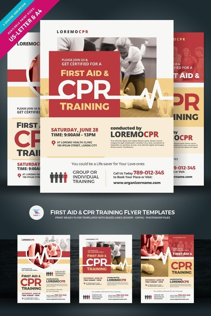 Cpr Flyer Template Printable