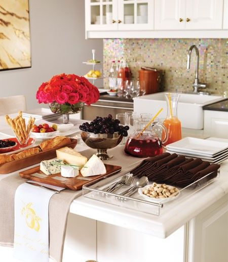 Kitchen Set Up: Let Your Holiday Feast Be Christmas' Star With These