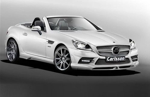 Carlsson Mercedes Benz Slk Modified Peugeot Roadsters Mercedes