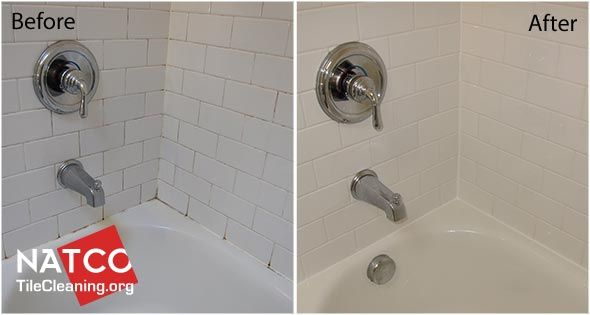 Before And After Pictures Of Cleaning Shower Mold Resealing Grout - Clean and reseal grout