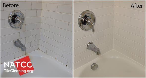 remove mold in a ceramic tile shower