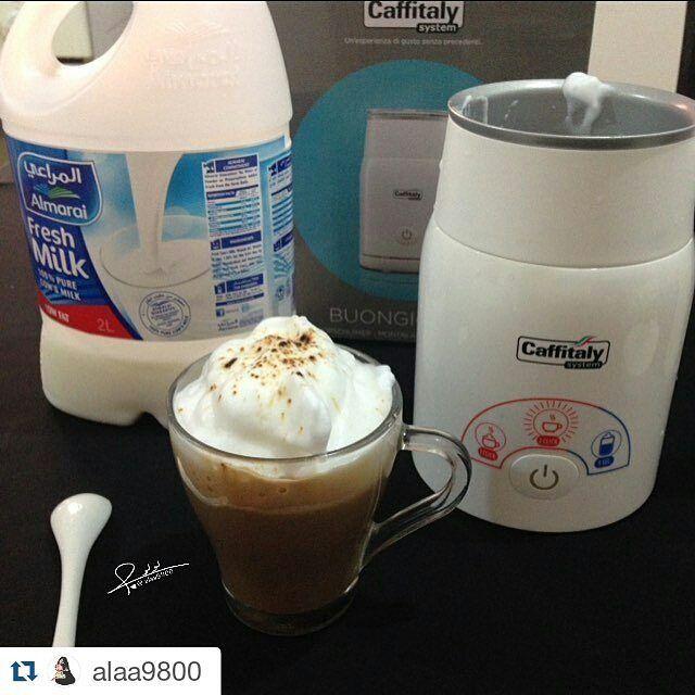 كــافـيـتـالــي On Instagram Repost Alaa9800 With Repostapp مساء الخير جهاز خافق الحليب المميز و الرائع بخاصية Morning Coffee Glassware Tableware