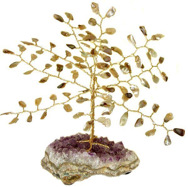 Abalone Gemstone Tree