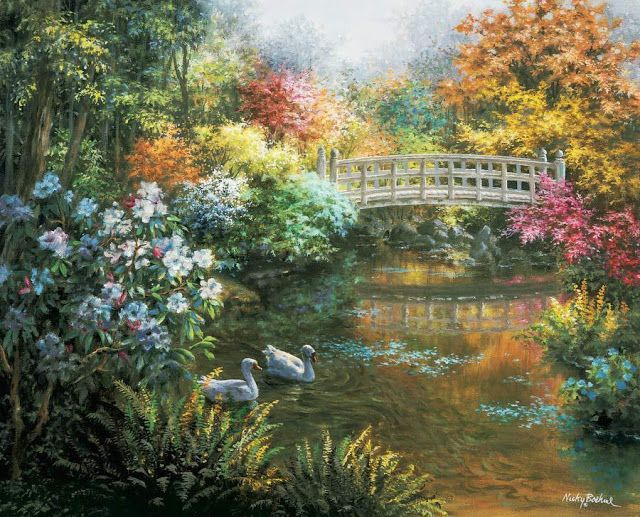 "Fine Art and You: Lovely Paintings by American Painter ""Nicky Boehme"""