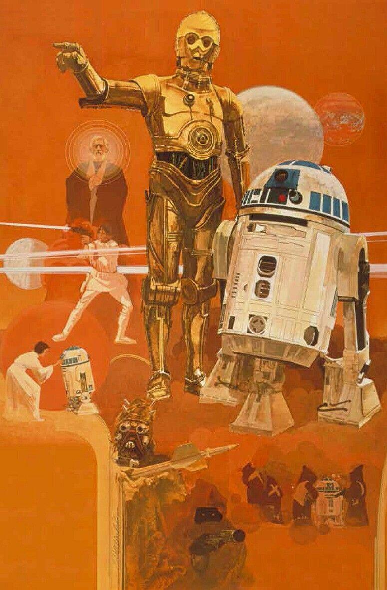 Star Wars C3po And R2d2 Danos