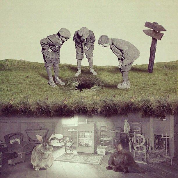 Q-TA ~ Collage via Q-TA's Gallery/Tumblr July 2012 (Art Director/ Graphic…