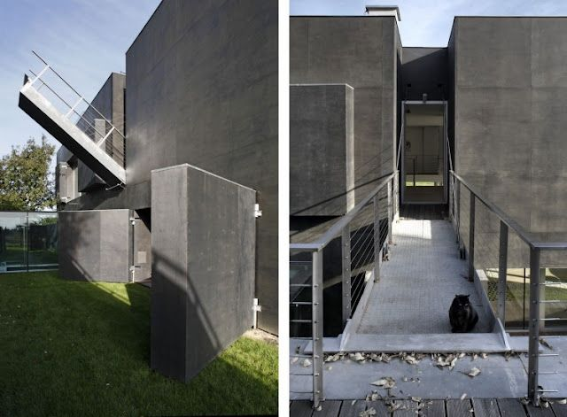 This Safe House Comes With It S Own Drawbridge Zombie Proof House Houses In Poland Fortress House