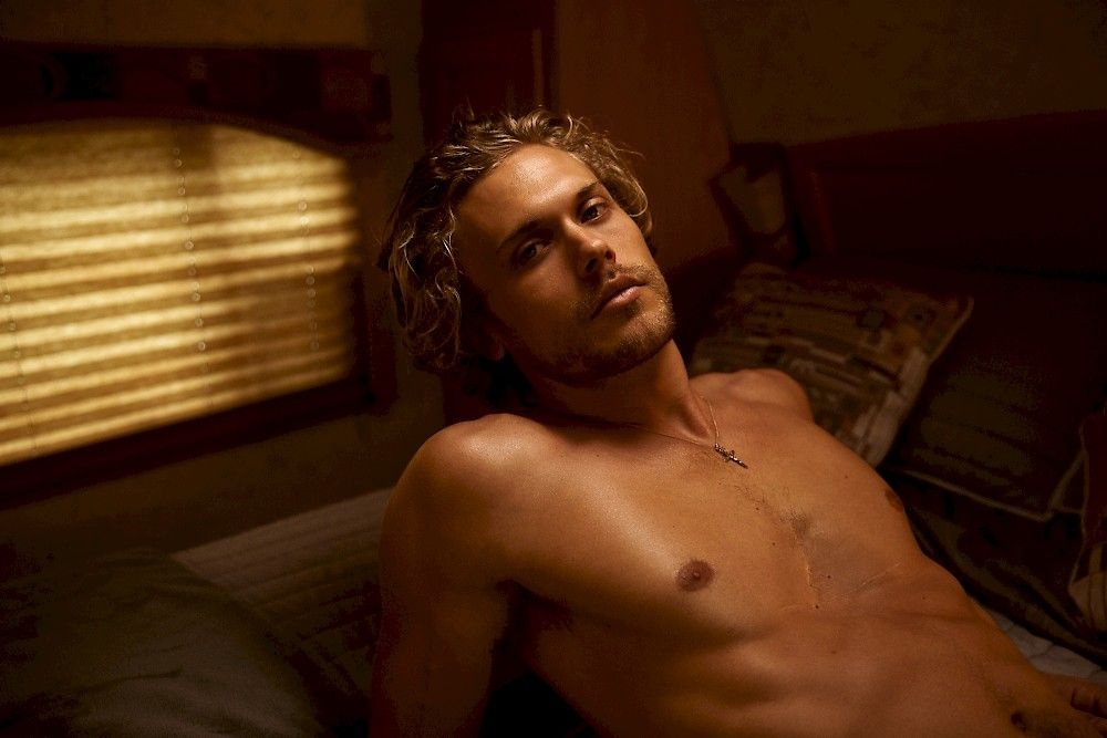 Christopher Mason Sitting On A Bed In A Trailer In Los Angeles Photography By Maximillian Baier Christopher Mason Photography