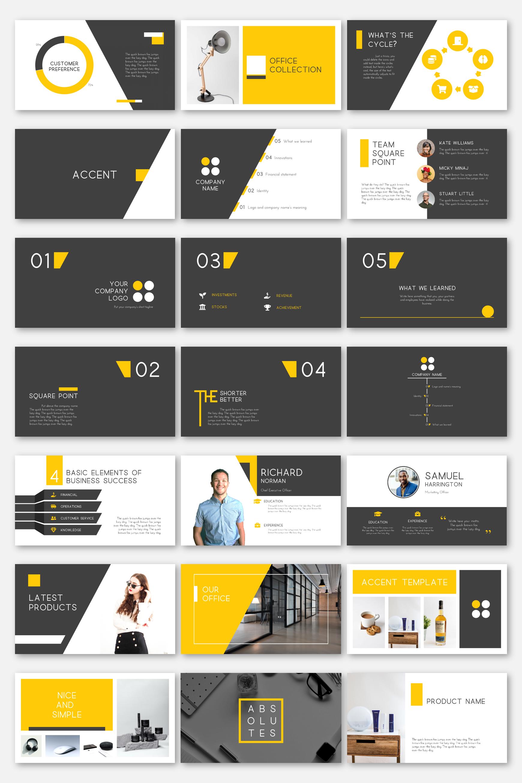 Modern Powerpoint Template Infographics Charts Magazine Portfolio Cv Resume Profile Office Collage Powerpoint Templates Learning Logo Powerpoint