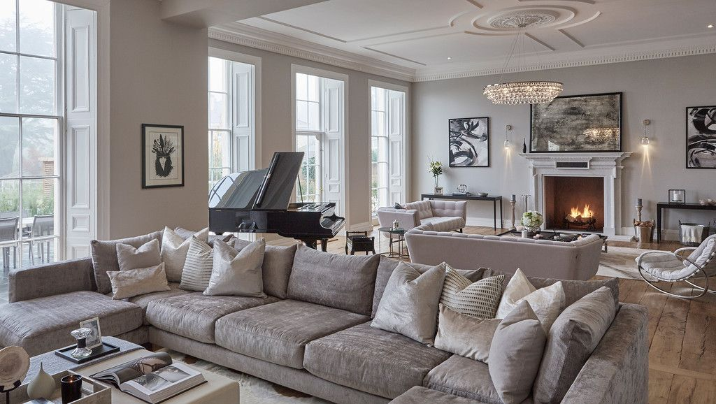 Beauty In The Uk Monochromatic Living Room Luxury Living Room