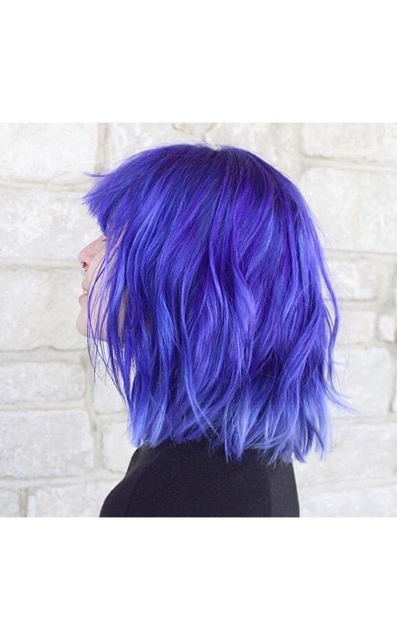 Image Result For Manic Panic Ultra Violet Dyed Hair Long Hair Styles Ultra Violet
