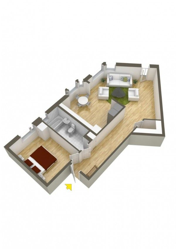 40 more 1 bedroom home floor plans misc pinterest bedrooms apartments and apartment ideas