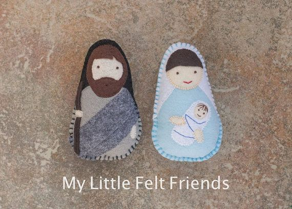 Holy family felt saint dolls catholic toys felt doll easter holy family felt dolls catholic gifts mass bag saint doll easter basket negle Choice Image