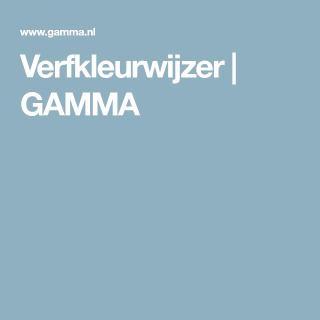 Verfkleurwijzer Gamma Verfkleur Inspireren Gamma