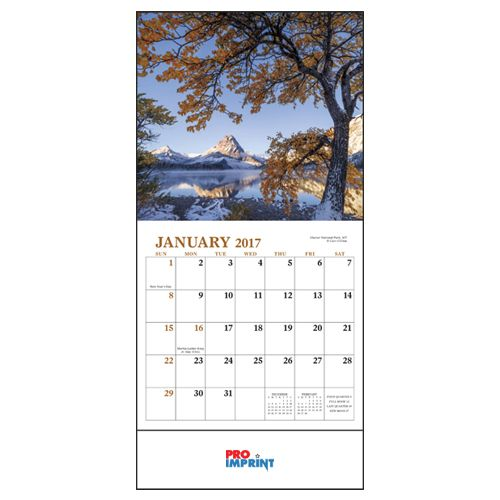 Promotional Logo 2020 Landscapes Of America Mini Wall Calendars