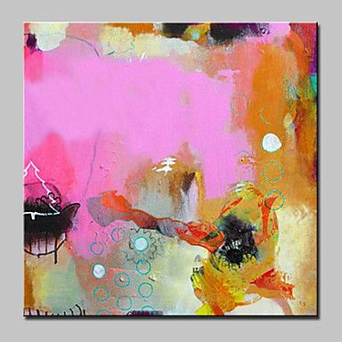 Large Hand Painted Abstract Oil Painting On Canvas Modern Wall Art ...