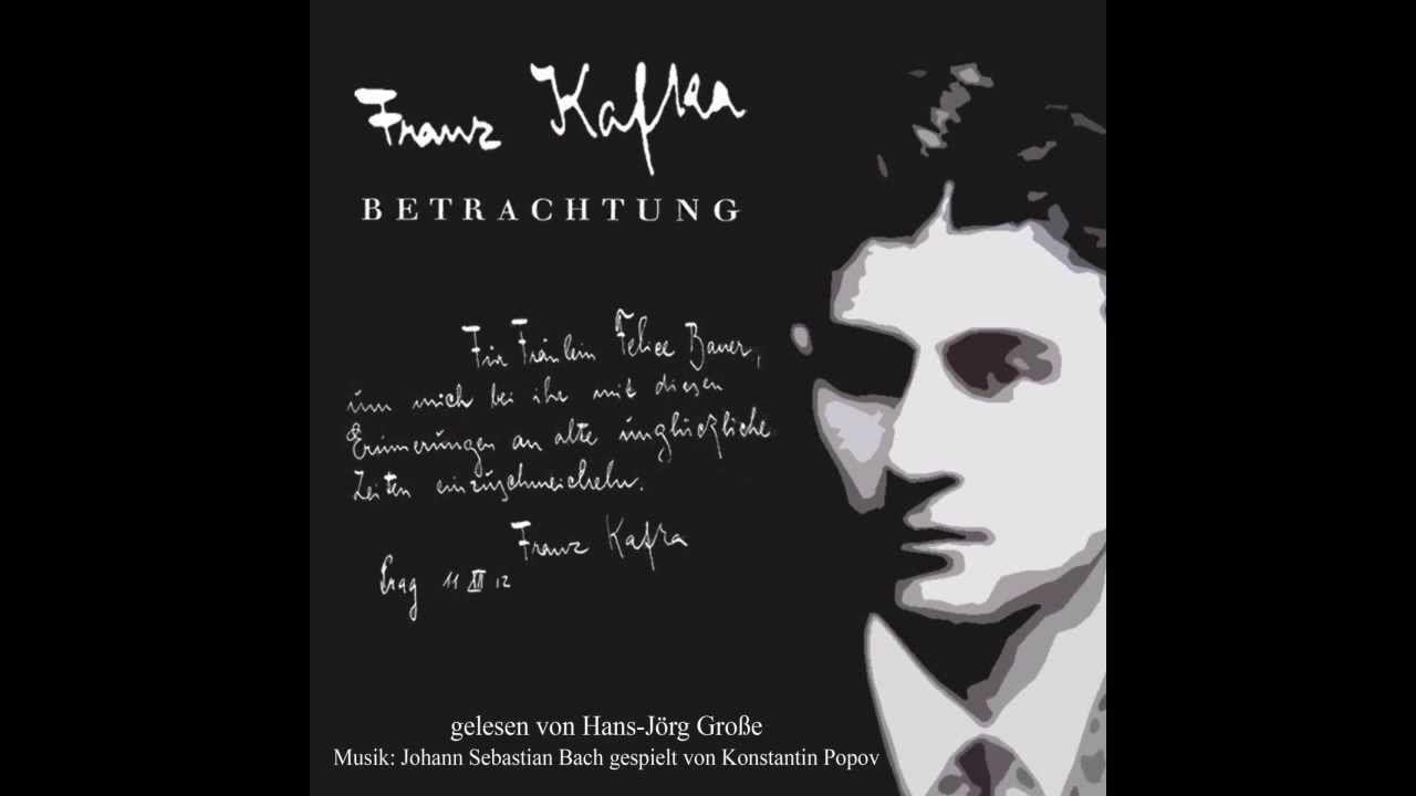 Franz Kafka ~ Unglücklichsein