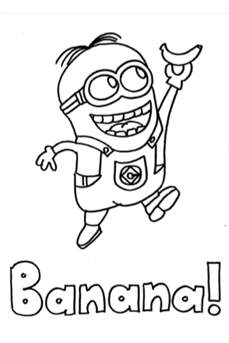 Minions Coloring Pages Kids Favorite Cartoon Characters Coloring Pages Minions Coloring Pages Coloring For Kids Cartoon Coloring Pages