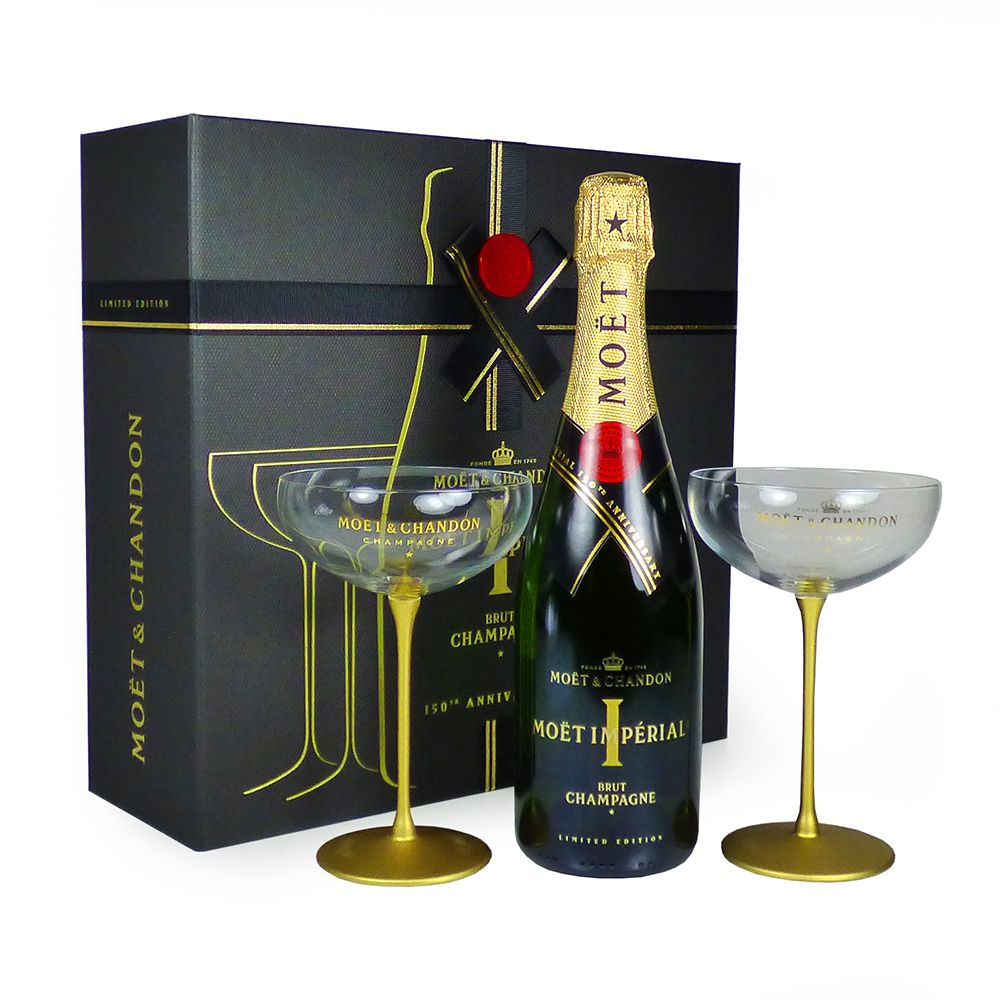 75cl Moet & Chandon Imperial Brut Champagne 150th