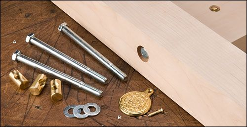 Bed Bolts Bed Frame Woodworking Epoxy Resin Steel Bed Frame
