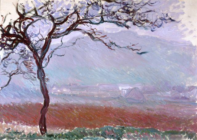 Claude Monet, \'Landscape at Giverny,\' , Museo Soumaya | Monet ...