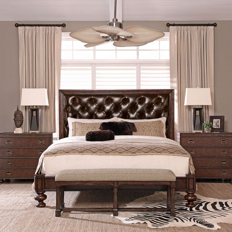 Best Bernhardt Commonwealth Upholstered Panel Bed 334 H64 Fr64 334 H65 Fr65 334 H66 Fr66 640 x 480