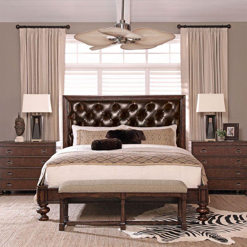 Bernhardt Commonwealth Upholstered Panel Bed
