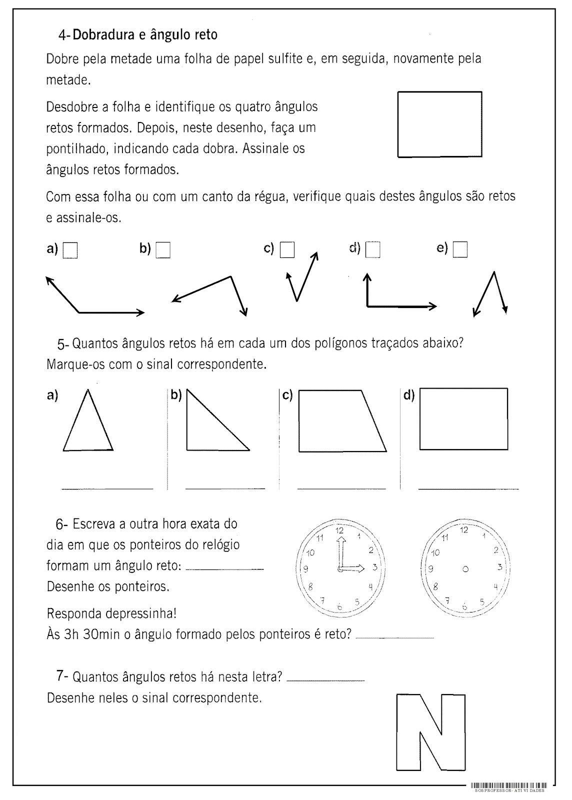 Resultado de imagem para atividades de matematica 5 ano medidas de ...
