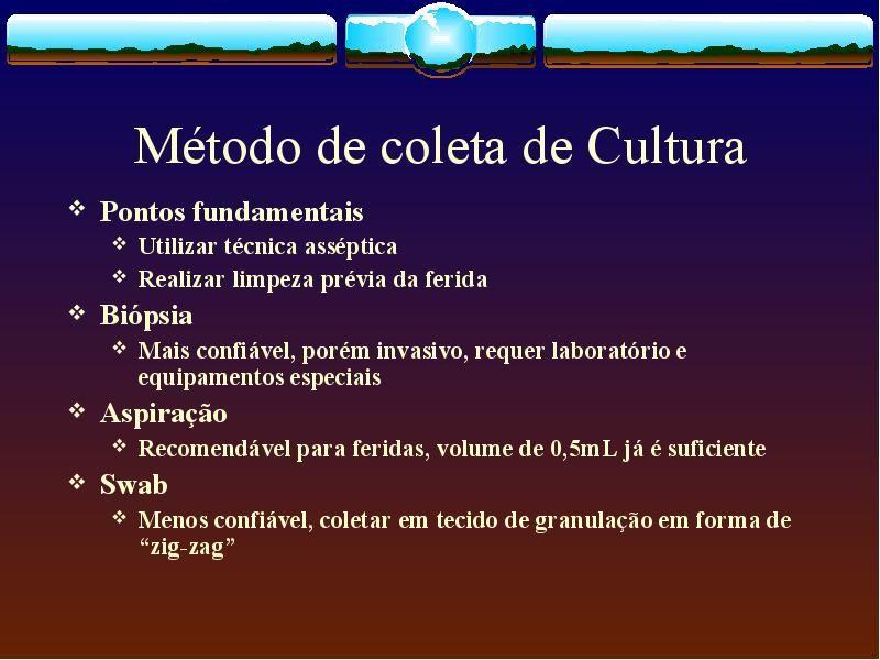 Arquivo CONCEITOS DE FERIDAS.ppt enviado por DANILO no