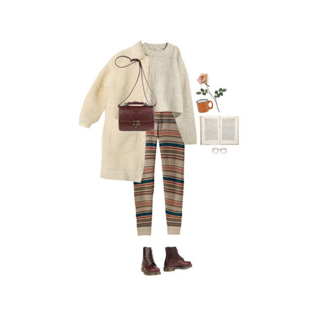 lämpöö ja lempee by hetasdfghjkl on Polyvore featuring polyvore fashion style Dr. Martens Jayson Home H&M clothing