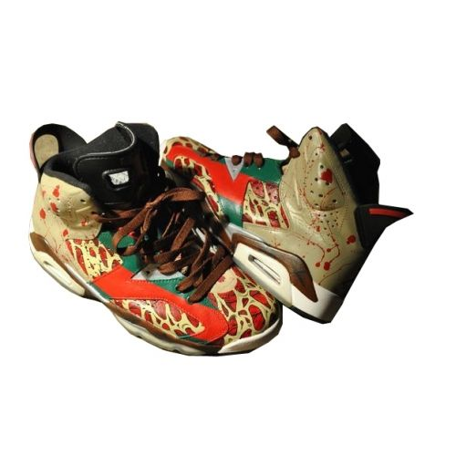Air Jordan VI (6) Freddy Krueger $58