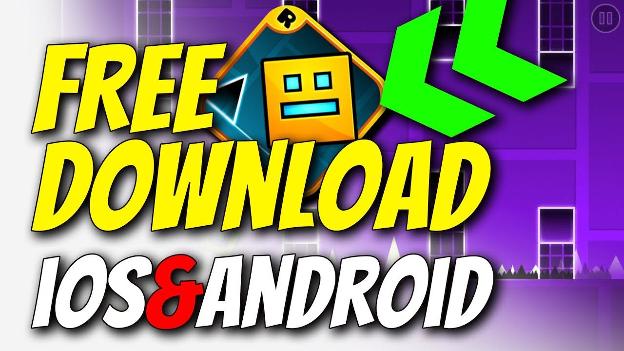 Geometry Dash Free Download How To Get Geometry Dash For Free On Ios In 2020 Free Download How To Get Geometry